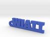 WIATT Keychain Lucky 3d printed