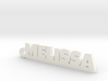 MELISSA Keychain Lucky 3d printed