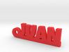 JUAN Keychain Lucky 3d printed