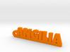 ANGILIA Keychain Lucky 3d printed