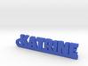 KATRINE Keychain Lucky 3d printed