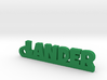 LANDER Keychain Lucky 3d printed