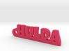 HULDA Keychain Lucky 3d printed