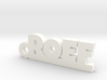 ROEF Keychain Lucky 3d printed