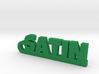 SATIN Keychain Lucky 3d printed