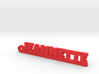 JEANNETTE Keychain Lucky 3d printed