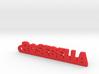 ROSEBELLA Keychain Lucky 3d printed