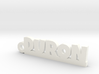 DURON Keychain Lucky 3d printed