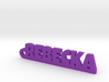 REBECKA Keychain Lucky 3d printed