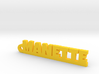 MANETTE Keychain Lucky 3d printed