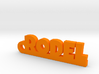 RODEL Keychain Lucky 3d printed