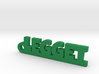 LEGGET Keychain Lucky 3d printed