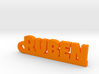 RUBEN Keychain Lucky 3d printed