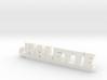 HALETTE Keychain Lucky 3d printed