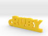 RUBY Keychain Lucky 3d printed