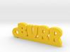 BURR Keychain Lucky 3d printed