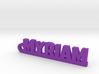 MYRIAM Keychain Lucky 3d printed