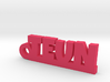 TEUN Keychain Lucky 3d printed