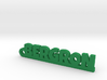 BERGRON Keychain Lucky 3d printed