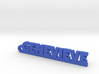 GENEVIEVE Keychain Lucky 3d printed