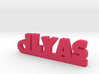 ILYAS Keychain Lucky 3d printed