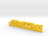 GEOFFROI Keychain Lucky 3d printed