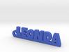 LEONDA Keychain Lucky 3d printed