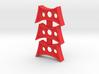 Tri-hole fidget spinner insert 3d printed
