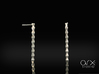 Coloana Earrings 3d printed Photo by ARX Studio