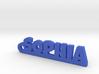 SOPHIA Keychain Lucky 3d printed