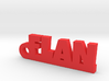 FLAN Keychain Lucky 3d printed