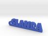 SLANDA Keychain Lucky 3d printed