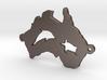 Australia charm curved 3d printed