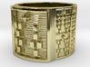 IRETEFUN Ring Size 14 3d printed
