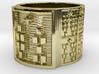 OSHEDI Ring Size 14 3d printed