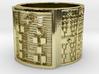 OSHESA Ring Size 13.5 3d printed