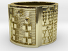 OSHETURA Ring Size 14 3d printed