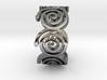 Seven Spirals Ring 3d printed