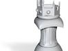 Crown Pawn 3d printed