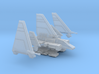 Folding XG-1 Assault Gunboat Variant 1/270 3d printed
