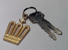 Crown Key Ring 3d printed