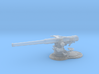 1/72 USN 4 inch 50 (10.2 cm) Sub Gun Deck  3d printed