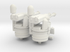 1/144 MK38 and .50 cal guns for MK vI 3d printed