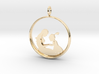 Mother & Daughter Pendant 2 -Motherhood Collection 3d printed