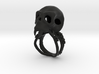 Blood Junkie Ring 3d printed