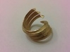 Coil ring 3d printed