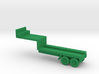 1/160 Scale Pershing 1 Missile Trailer 3d printed