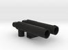 CW/UW Bruticus/Baldigus Cannon Extensions 3d printed Black Strong & Flexible