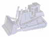 High Track Dozer 3d printed