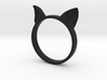 Cat Ears Ring 3d printed
